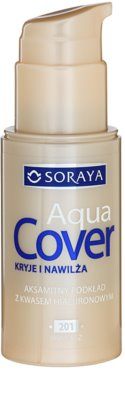 Soraya Aqua Cover fedő make-up hidratáló hatással 1