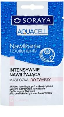 Soraya Aquacell intensive hydratisierende Maske