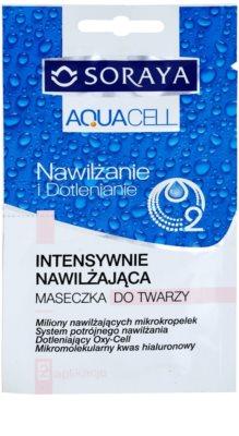 Soraya Aquacell intenzív hidratáló maszk