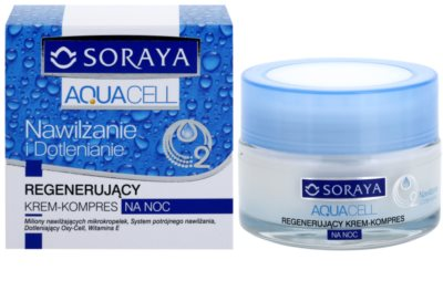 Soraya Aquacell зволожуючий крем для відновлення шкіри 1