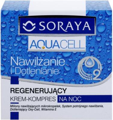 Soraya Aquacell зволожуючий крем для відновлення шкіри 2