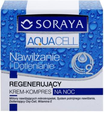 Soraya Aquacell crema hidratanta pentru regenerare 2