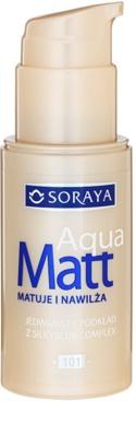 Soraya Aqua Matt тональний крем з матуючим ефектом зі зволожуючим ефектом 1
