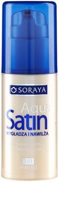 Soraya Aqua Satin хидратиращ фон дьо тен с изглаждащ ефект