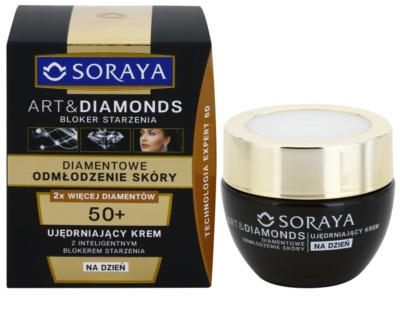 Soraya Art & Diamonds crema de zi de intinerire cu pulbere de diamante 1