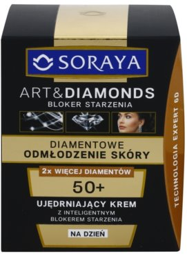 Soraya Art & Diamonds verjüngende Tagescreme mit Diamantpulver 2