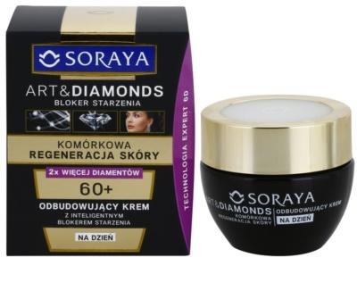 Soraya Art & Diamonds crema de zi regeneranta pentru regenerarea celulelor pielii 1