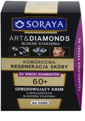 Soraya Art & Diamonds crema de zi regeneranta pentru regenerarea celulelor pielii 2