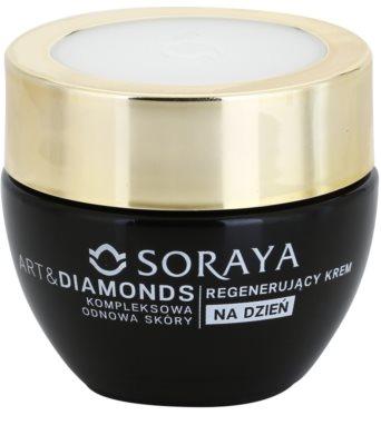 Soraya Art & Diamonds crema de día rejuvenecedora  para renovación celular de la piel