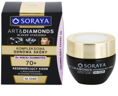 Soraya Art & Diamonds crema de día rejuvenecedora  para renovación celular de la piel 1