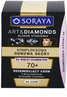 Soraya Art & Diamonds crema de día rejuvenecedora  para renovación celular de la piel 2