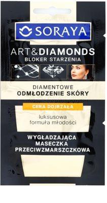 Soraya Art & Diamonds maseczka wygładzająca o działaniu przeciwzmarszczkowym