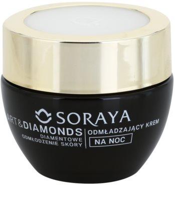 Soraya Art & Diamonds verjüngende Nachtcreme mit Diamantpulver