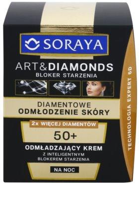 Soraya Art & Diamonds omlazující noční krém s diamantovým práškem 2