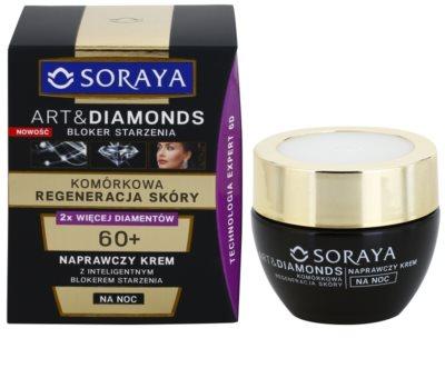 Soraya Art & Diamonds регенериращ нощен крем за подновяване на кожните клетки 1