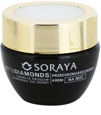 Soraya Art & Diamonds éjszakai krém a ráncok ellen