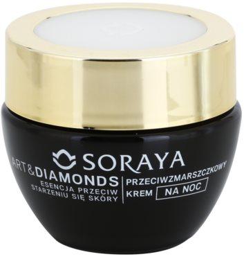 Soraya Art & Diamonds Nachtcreme gegen Falten