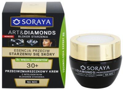 Soraya Art & Diamonds noční krém proti vráskám 1