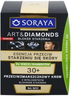 Soraya Art & Diamonds noční krém proti vráskám 2