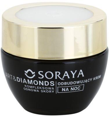 Soraya Art & Diamonds crema de noapte cu efect de intinerire pentru regenerarea celulelor pielii