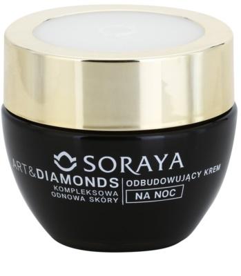 Soraya Art & Diamonds odmładzający krem na noc do regeneracji komórek skóry