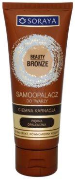 Soraya Beauty Bronze önbarnító fluid sötét arcbőrre