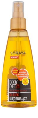 Soraya Body Diet 24 intenzívne vyživujúci telový olej so spevňujúcim účinkom