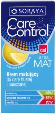 Soraya Care & Control crema matificante para pieles mixtas y grasas 2