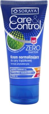 Soraya Care & Control crema antibacteriana pentru pielea cu imperfectiuni