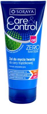 Soraya Care & Control gel de limpeza antibacteriano antiacne