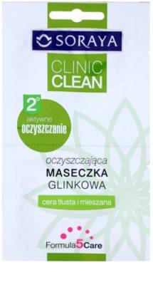Soraya Clinic Clean máscara de limpeza com argila
