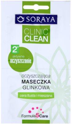 Soraya Clinic Clean очищаюча маска з глиною
