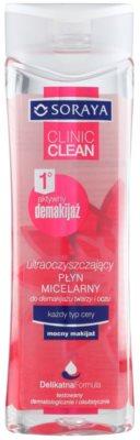 Soraya Clinic Clean água micelar para todos os tipos de pele