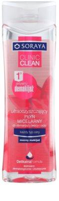Soraya Clinic Clean Міцелярна вода для всіх типів шкіри