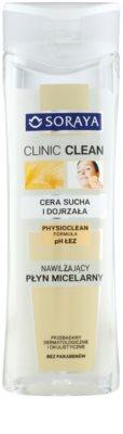Soraya Clinic Clean água micelar hidratante para pele madura