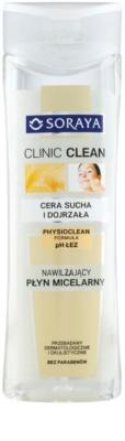 Soraya Clinic Clean agua micelar hidratante para pieles maduras