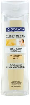 Soraya Clinic Clean feuchtigkeitsspendendes Mizellarwasser für reife Haut