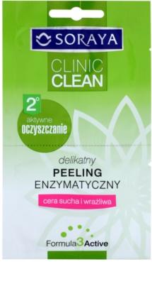 Soraya Clinic Clean jemný enzymatický peeling pro suchou až citlivou pleť