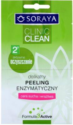 Soraya Clinic Clean sanftes enyzmatisches Peeling für trockene bis empfindliche Haut