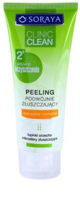Soraya Clinic Clean esfoliante de limpeza para tom da pele unificado
