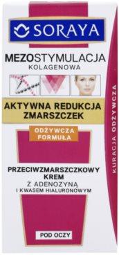 Soraya Collagen Mesostimulation Anti-Faltencreme für den Augenbereich 2