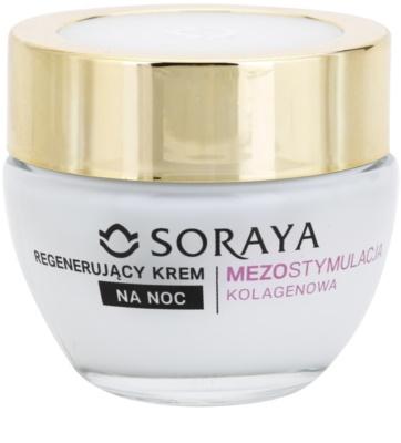 Soraya Collagen Mesostimulation regenerierende Nachtcreme gegen Falten