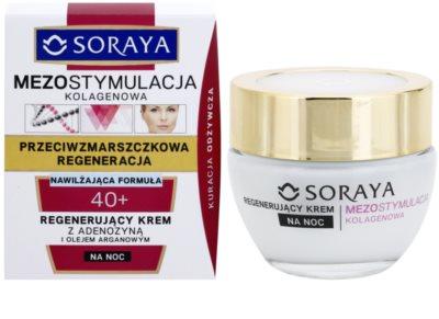Soraya Collagen Mesostimulation regenerierende Nachtcreme gegen Falten 1