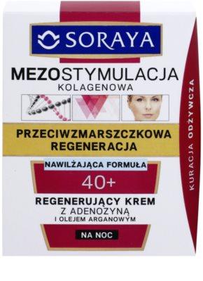 Soraya Collagen Mesostimulation regenerierende Nachtcreme gegen Falten 2