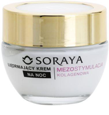 Soraya Collagen Mesostimulation festigende Nachtcreme gegen Falten