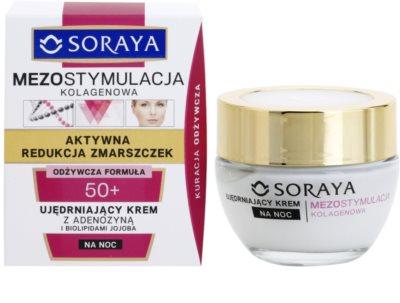 Soraya Collagen Mesostimulation стягащ нощен крем против бръчки 1