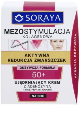 Soraya Collagen Mesostimulation crema de noapte pentru fermitate antirid 2