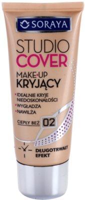 Soraya Studio Cover base de maquillaje cubre imperfecciones con vitamina E