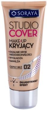 Soraya Studio Cover fedő make-up E-vitaminnal