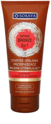 Soraya Express Bronze aktivátor opálení 3 v 1